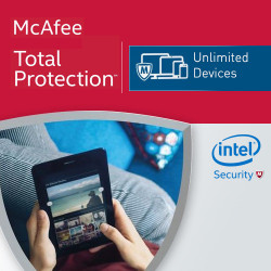 McAfee Total Protection 2019 KEY Unlimited PC