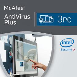 McAfee Antivirus Plus 2017 3 Urządzenia