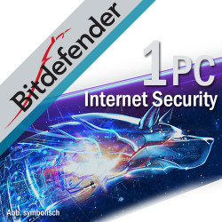 BitDefender Internet Security 2018 1 PC