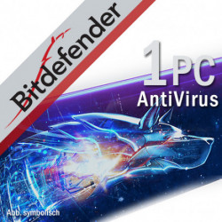 Bitdefender AntiVirus Plus 1PC/2Lata