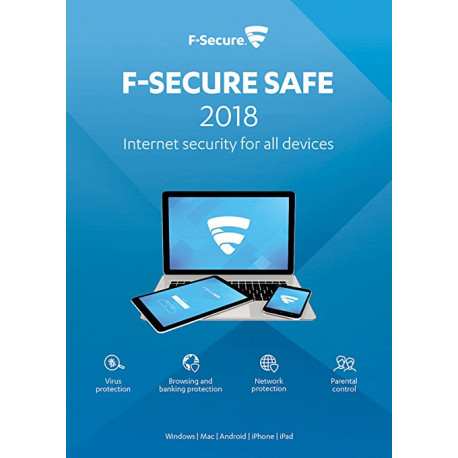 F-Secure SAFE Internet Security 1PC/1Rok