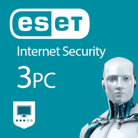 ESET Internet Security 3 PC 1 ROK