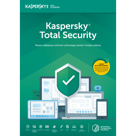 Kaspersky Total Security multi-device 3PC/2Lata Odnowienie