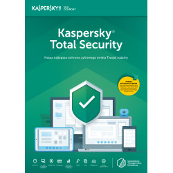 Kaspersky Total Security multi-device 5PC/1Rok