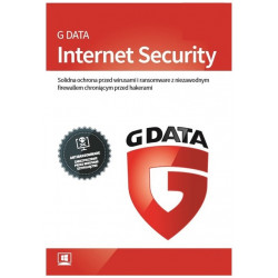 G Data Internet Security 2019 2PC/3Lata