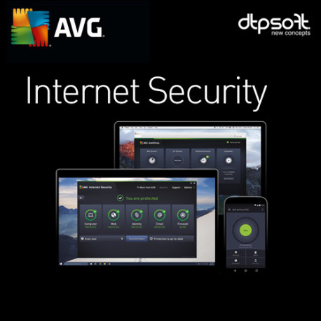AVG Internet Security 1 PC 2018 Odnowienie
