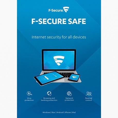 F-Secure SAFE Internet Security 2018 3 PC 1 ROK Odnowienie