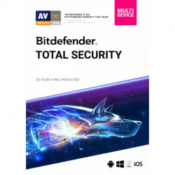 Bitdefender Total Security Family Pack - 3 Lata