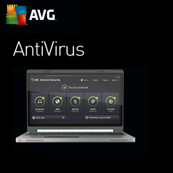 AVG Antivirus PL 2018 1 PC/ 2 Lata