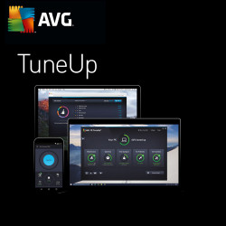 AVG PC TuneUP 2018 3 PC / 2 Lata