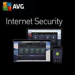 AVG Internet Security PL 2018 3 PC/ 2 LATA