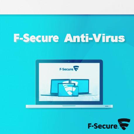 F-SECURE Anti-Virus 2018 1 PC 12 M Odnowienie