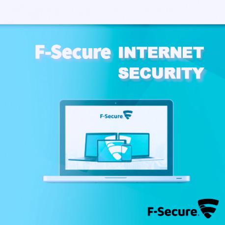 F-Secure Internet Security 2018 5PC Odnowienie