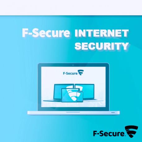F-Secure Internet Security 2018 1PC Odnowienie