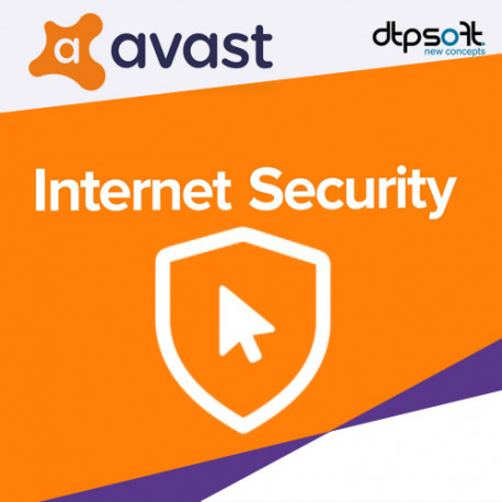 AVAST INTERNET SECURITY 2018 1 PC /1 ROK