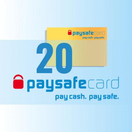PaySafeCard 20 zł PSC