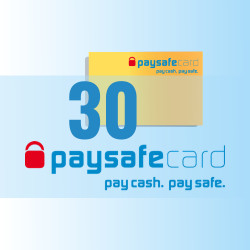 PaySafeCard 30 zł PSC