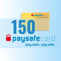 PaySafeCard 150 zł ( 100 + 50 ) PSC