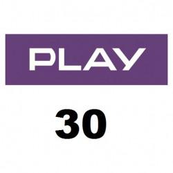 Doładowanie Play 30 zł