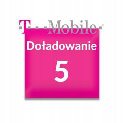 Doładowanie T-Mobile 5 zł