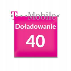 Doładowanie T-Mobile 40 zł