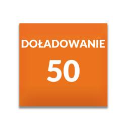 Doładowanie ORANGE 50 zł