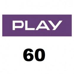 Doładowanie Play 60 zł