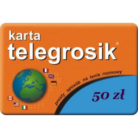 Doładowanie Telegrosik 50 zł