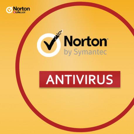 Norton Antivirus Plus 1 PC AntiVirus 1 ROK + 2 GB