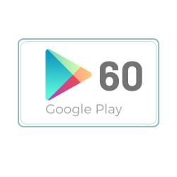 Kod Podarunkowy Google Play 60 zł