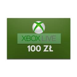 Xbox LIVE 100zł