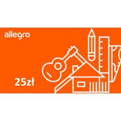 Kod podarunkowy Allegro 25zł