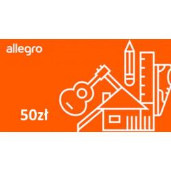 Kod podarunkowy Allegro 50zł