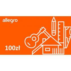 Kod podarunkowy Allegro 100zł