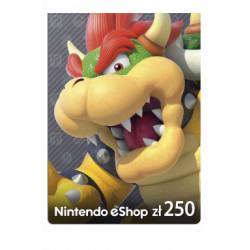 Kod podarunkowy Nintendo 250zł