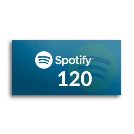 Kod podarunkowy Spotify 120zł