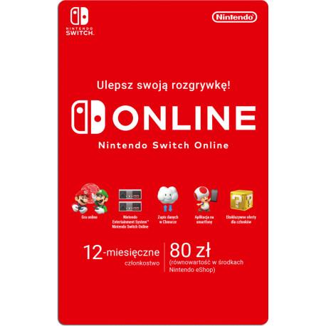Nintendo Switch 12 miesiące