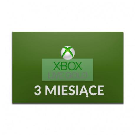 Xbox LIVE 3 miesiące