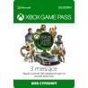 Microsoft Abonament Game Pass 3 miesiące
