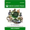 Microsoft Abonament Game Pass 6 miesięcy