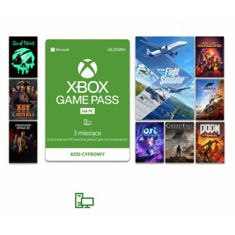 Microsoft Game Pass PC 3 miesiące (kod)