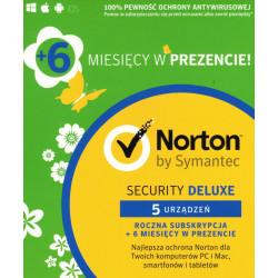 Norton Security Deluxe 5 PC / 18 miesięcy