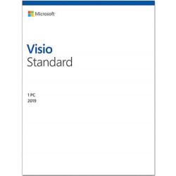 Microsoft Visio 2019 Standard PL