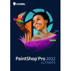 Corel PaintShop Pro 2022 ULTIMATE - licencja komercyjna, wieczysta,