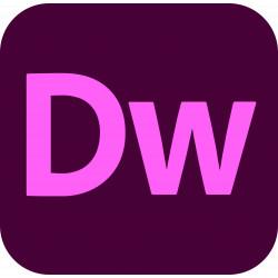 Adobe Dreamweaver CC for Teams ENG Win/Mac – Odnowienie subskrypcji – licencja rządowa