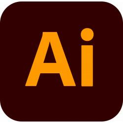Adobe Illustrator CC for Teams (2021) ENG Win/Mac – dodatkowe stanowisko – licencja rządowa
