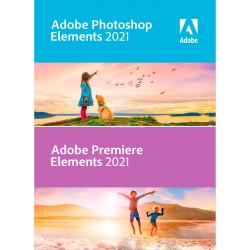 Adobe Photoshop Elements 2021 & Premiere Elements 2021 ENG Win/Mac – dla instytucji EDU
