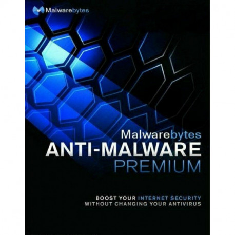 MalwareBytes Premium 3 PC / 1 Rok