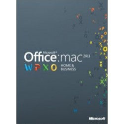 Microsoft Office Home and Business 2011 MAC PL