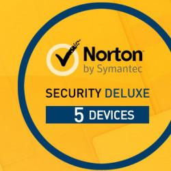 Norton Security 2018 Deluxe 1 Użytkownik, 5 Urządzeń